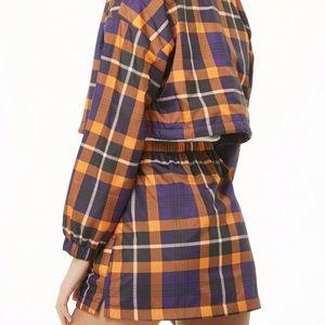 Forever 22 Plaid Mini Skirt